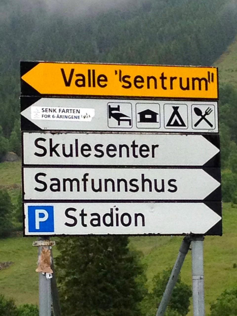 valle dialekt